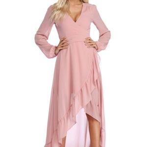 Pink women dress